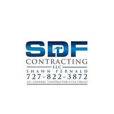 Great construction company logos and names construction company sdf contracting llc shawn fernald create a stellar construction logo for a stellar contractor malvernweather Images