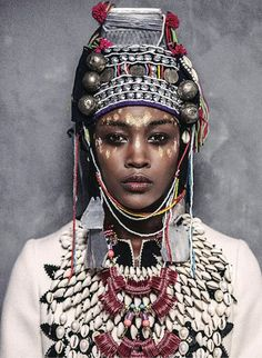 Mara Hoffman / Bohemian / Tribal / Fashion / Jewellery / Style / Beauty / Inspiration