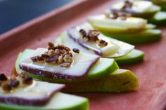 Pear, Cheese, and Apple Appetizers