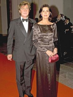 Princess Caroline of Monaco and Prince Ernst of Hanover