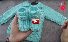 Thessaloniki Knitting Baby Booties Making - Turkish Video Talk with hamarat han .Thessaloniki Knitting Baby Booties Making - Turkish Video Narration Although it is quite easy for wo Baby Booties Free Pattern, Knit Baby Booties, Baby Boots, Knitted Baby, Baby Knitting Patterns, Baby Patterns, Free Knitting, Free Crochet, Crochet Patterns