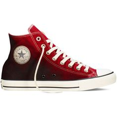 Converse Chuck Taylor All Star Sunset Wash – back alley... ($50) ❤ liked on Polyvore featuring shoes, sneakers, converse, bleach shoes, star shoes, converse sneakers, cherry shoes and star sneakers