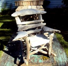 driftwood lawn chair?