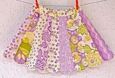 Dresden plate skirt