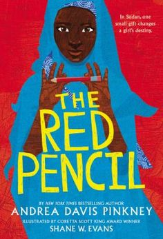 "<2014 pin> The Red Pencil by Andrea Davis Pinkney. SUMMARY: ""After her tribal village is attacked by militants, Amira, a young Sudanese girl, must flee to safety at a refugee camp, where she finds hope and the chance to pursue an education in the form of a single red pencil and the friendship and encouragement of a wise elder""-- Provided by publisher."