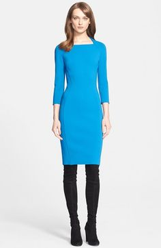 St. John Collection Luxe Knit Sheath Dress available at #Nordstrom