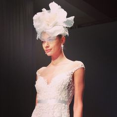 Fall 2014 Wedding Dress Trend: Illusion Cap Sleeves | from Brides