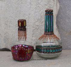 Mosaic Liquor Bottles | Flickr - Photo Sharing!