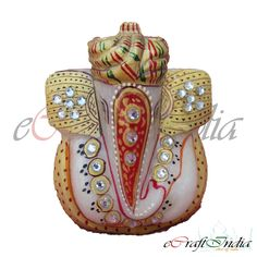 We offer a supreme quality array of Marble Ganpati Statues. These Marble Ganpati Statues are designed by the skilled professionals as they have profound knowledge in the domain. It is believed that lord Ganesha is the deity of wisdom and prosperity and thus, widely required in religious places. Moreover, due to their beautiful appearance they are suitable for gifting purpose also.
