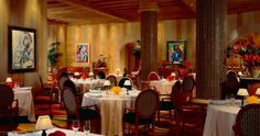 Picasso Fine Dining At The Bellagio, Click Pic To See All Bellagio Restaurants with Details