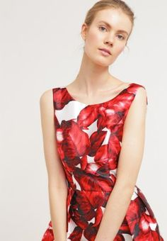 Chi Chi London PIPER - Vestido informal - red - Zalando.es #kissmylook