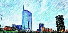 Panorama milanese Foto di Pino Branca #milanodavedere Milano da Vedere