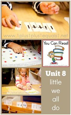 You Can Read Sight Words Unit 8 ~ Homeschool Kindergarten