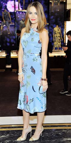 Look of the Day - October 31, 2014 - Camilla Belle in Gucci from #InStyle