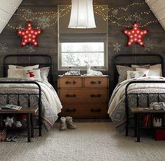 Holiday bedroom…
