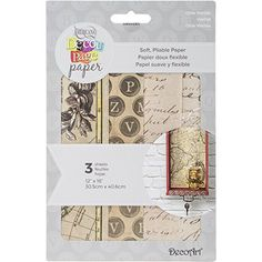 """Deco Art Decoupage Paper (3 Pack), 12"""" by 16"""", Olde Worlde ** Check this awesome product by going to the link at the image."""
