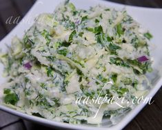 #Simple, #delicious and high in #vitamins is this #potato #cabbage #salad #recipe #PotatoSalad #CabbageSalad…Read more http://www.aashpazi.com/potato-cabbage-salad