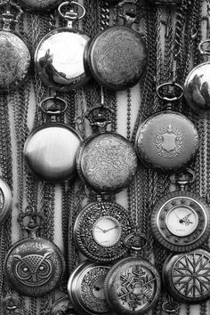 Custom Sterling Silver Pocket Watches
