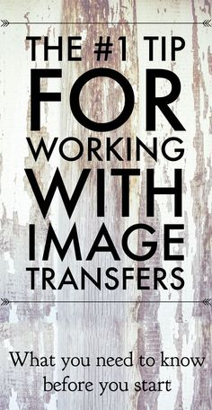 My Top Tip for Working with Transfers! - The Graphics Fairy                                                                                                                                                                                 More