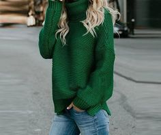 New Cable Knit Pullover Sweaters Cute Cozy Red Sweaters Knit Pullover Womens Cable sweaters spring & summer classy trendy sweaters outfits for teens for school for women Cute Sweater Outfits, Casual Sweaters, Cute Sweaters, Sweaters For Women, Summer Sweaters, Red Sweater Outfit, Fashion Mode, Look Fashion, Teen Fashion