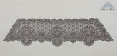 Lace stole gossip technique Vologda lace Linen with interweaving silk. Thin and very beautiful accessory will make your image more romantic and refined.  Mounted on a brooch.  Length lace - 125 cm, width - 30 cm.