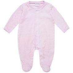 Breton Stripe Baby Sleepsuit