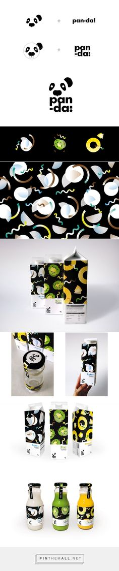 Packaging and logo design - pan-da! on Behance by Katarzyna Wieteska Skierniewice, Poland curated by Packaging Diva PD. Created at Design Studio of Visual Information of prof Piotr Karczewski at Academy of Fine Arts in Łódź.