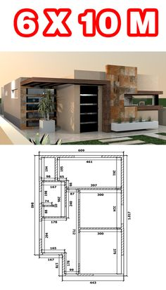 Small Modern House Plans, Beautiful House Plans, Small House Floor Plans, My House Plans, Contemporary House Plans, Minimal House Design, Best Modern House Design, Duplex House Design, Small House Design