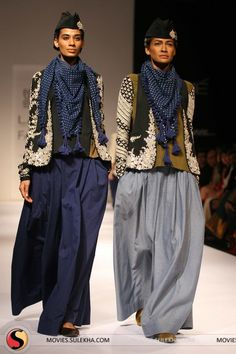 Sabyasachi Mukherjee, Lakme Fashion Week- Winter 2011 - In Store Now.love the way this designer thinks! Contemporary Fashion, Modern Fashion, Look Fashion, Womens Fashion, Fashion Design, Milan Fashion, Ethnic Fashion, Indian Fashion, Womens Clothing Stores