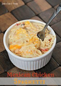 #Recipe / Mexican Chicken Spaghetti