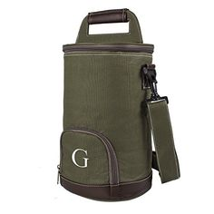 """Camping Kitchen :""""Cathy's Concepts Personalized Growler Cooler : Green : Monogrammed Letter G"""" ** Continue viewing to know more at this Camping Kitchen board"""