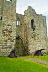 The gatehouse of Etal Castle