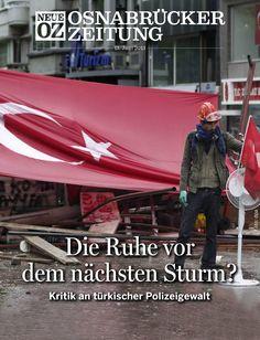 In unserer aktuellen iPad-Ausgabe (13.06.2013) beschäftigen wir uns mit der Situation in der Türkei. www.noz.de/digitalabo