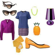 Retro Retro, My Style, Polyvore, Image, Fashion, Moda, Fashion Styles, Retro Illustration, Fashion Illustrations