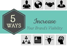 How to Increase #Visibility for Your Brand?Providing A Solid Base on which to build upon http://www.capqglobal.com/global-visibility.html