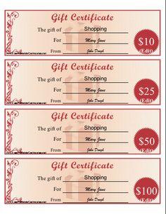 dollar certificate template - free printable gift certificate forms certificates sheet