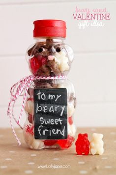 Beary Sweet Teacher Appreciation Valentine