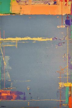 Original art for sale at UGallery.com | Abstract Painting 2 by Joey Korom | mixed media artwork