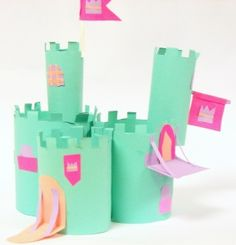 This second grade lesson incorporated architecture, art history, sculpture, and collage.  Students viewed a variety of castles and learned how and why castles were built.  They  learned how to roll cylinders and join paper with glue and slits.  Details were added with cut paper.