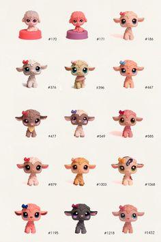 Littlest Pet Shop Lambs Lps Littlest Pet Shop, Little Pet Shop Toys, Little Pets, Needle Felted Animals, Felt Animals, Cute Animals, Lps Toys, Pet 1, Disney Colors