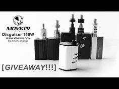 Movkin Disguiser 150W-It Is Time to Change + 20pcs GIVEAWAY