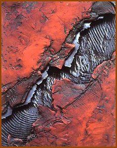 """""""Strata II"""" by JANEY Skeer - Giclee print of original clay & steel work"""