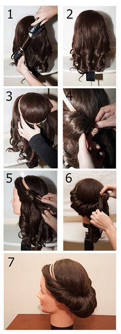 Aprende como hacerte tú misma este precioso peinado estilo griego.