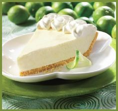 LOW FAT KEY LIME PIE