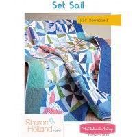 Set Sail Downloadable PDF Quilt PatternSharon Holland Designs