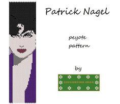 Patrick Nagel PDF peyote schema bracciale di GiugurtinaCrea