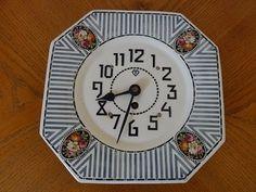 krásné staréporcelánové hodiny