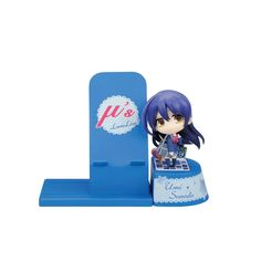This *Love Live!* Choco Sta Figure and Smartphone Stand is one of a series of figure and smartphone stand sets made to celebrate and support the idols in the *Love Live!* series! Included is a smartphone stand to keep your phone safe and visible while it's charging, and a removable, painted non-scale ABS and PVC figure of one of the adorable *Love Live!* idols! You can keep her with you on her des...