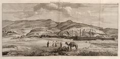 Eerste gesigt van Persepolis - 1704 - Cornelis de Bruijn - New York Public Library - Digital Collections