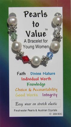 Pearls to Value: A Bracelet for Young Women (Bracelet)